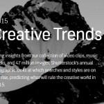 ดูเทรนด์ Graphic Design 2015 จาก ShutterStock