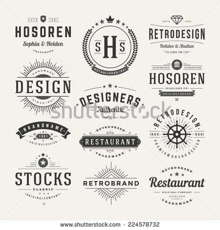 stock-vector-retro-vintage-insignias-or-logotypes-set-vector-design-elements-business-signs-logos-identity-224578732