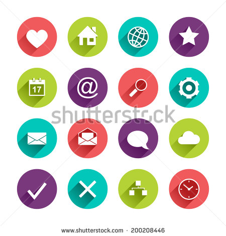 stock-vector-vector-application-web-icons-set-in-flat-design-with-long-shadows-on-circle-buttons-with-heart-200208446