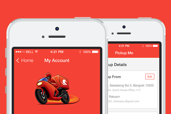 Redesign app Rush Bike