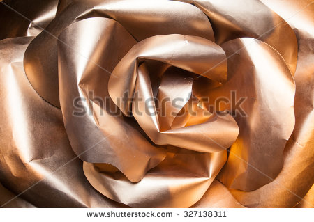 stock-photo-golden-rose-with-paper-petals-origami-rose-gold-rose-petals-large-paper-327138311
