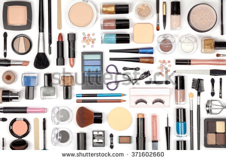 stock-photo-makeup-cosmetics-brushes-and-other-essentials-on-white-background-top-view-beauty-flat-lay-concept-371602660