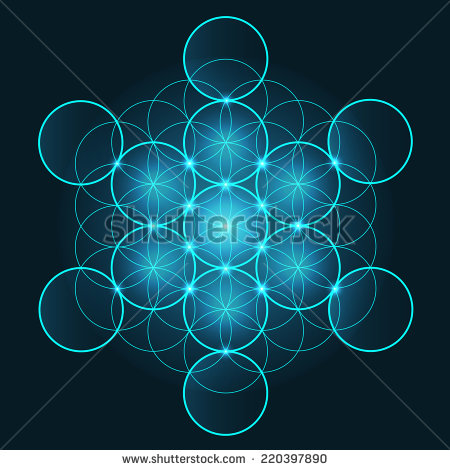 stock-vector-flower-of-life-symbol-shiny-and-glowing-set-of-ornaments-220397890