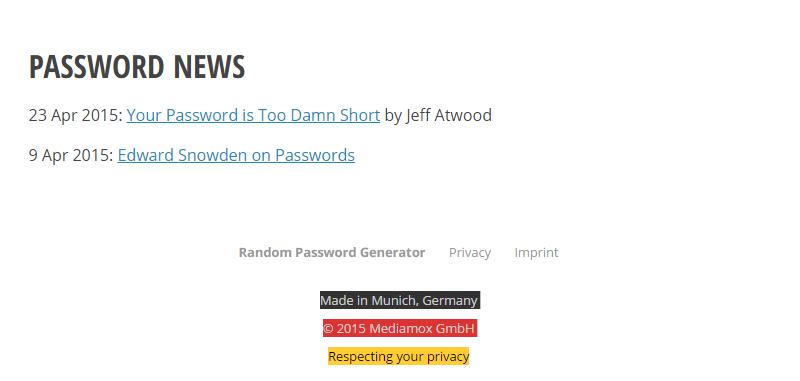 random-password