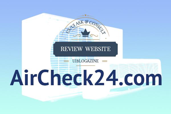 รีวิวเว็บ AirCheck24 (เว็บร้านแอร์ออนไลน์)